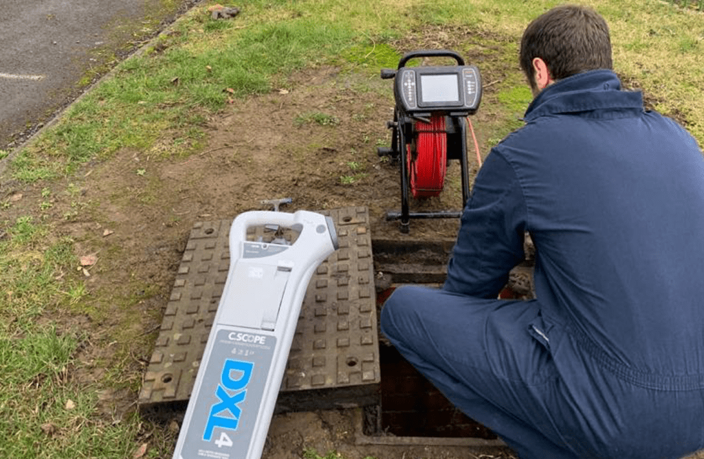 Commercial drain survey