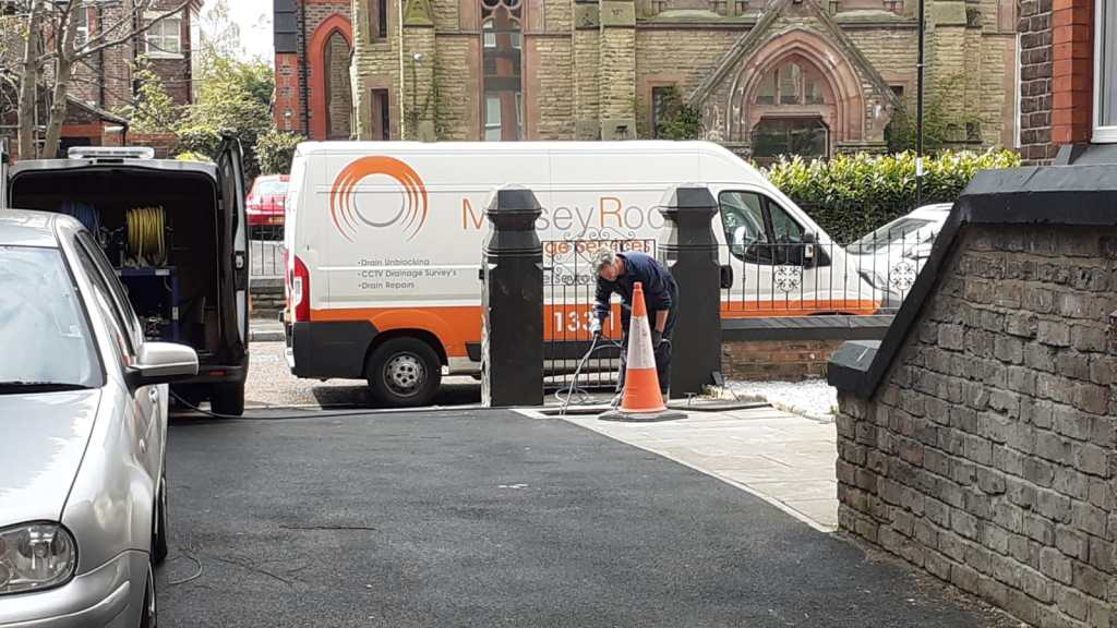 CCTV drain survey, Liverpool
