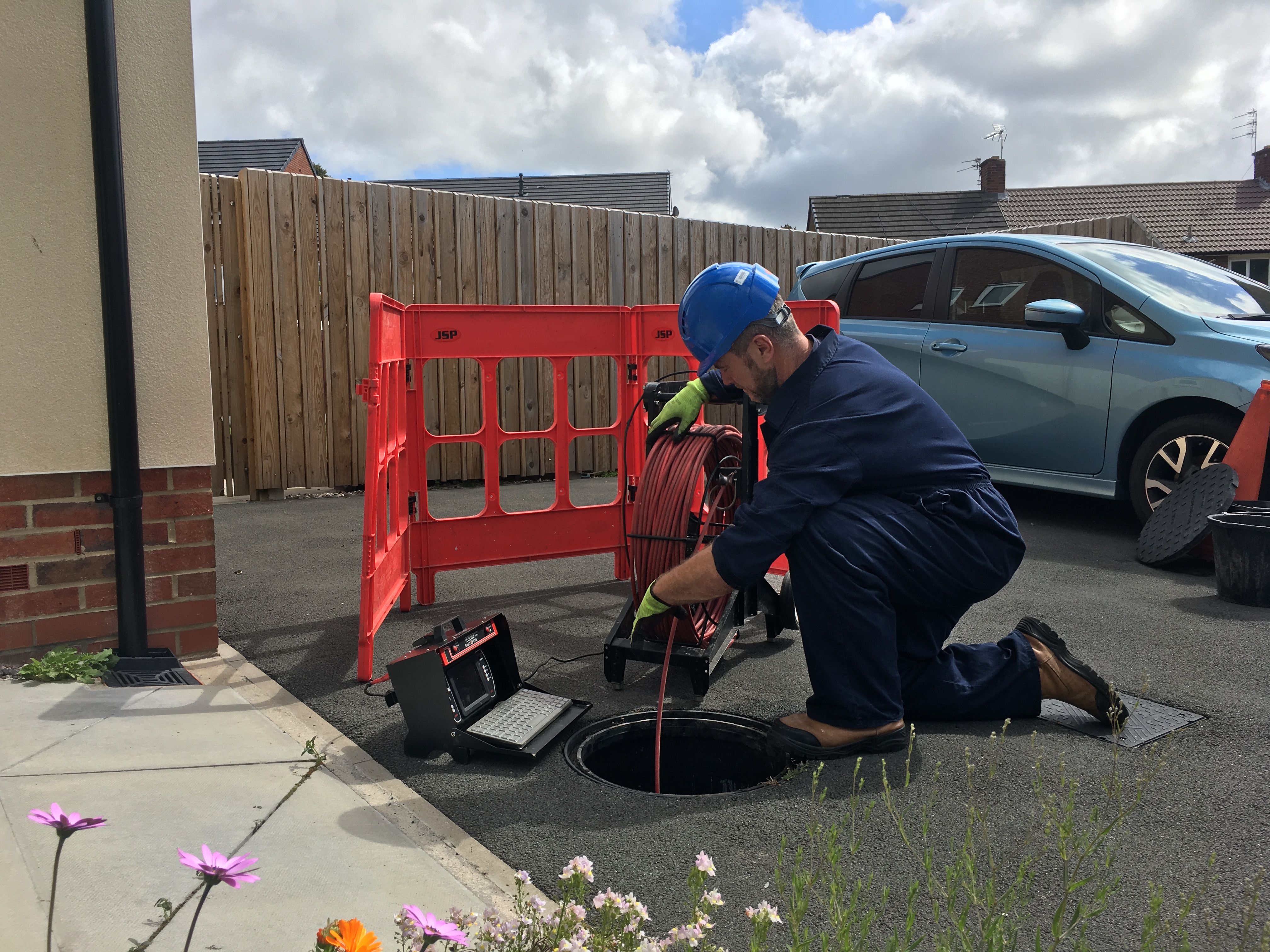 drain survey in Warrington