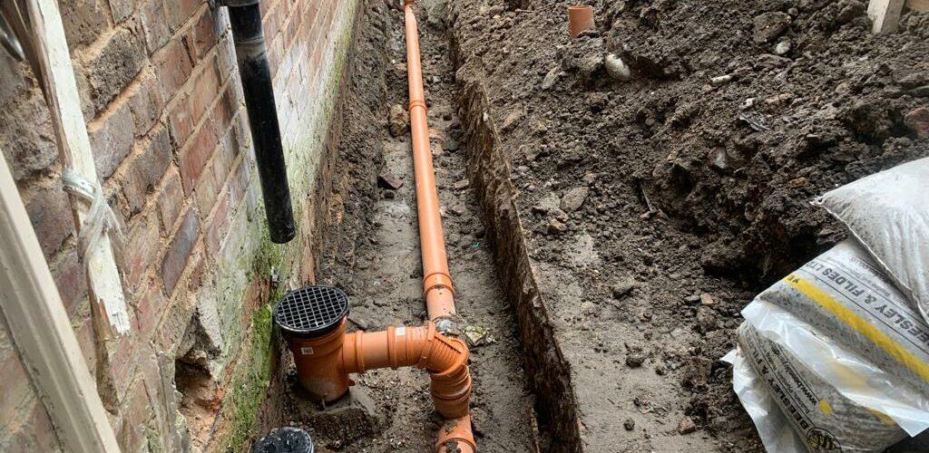 drain repairs in Warrington