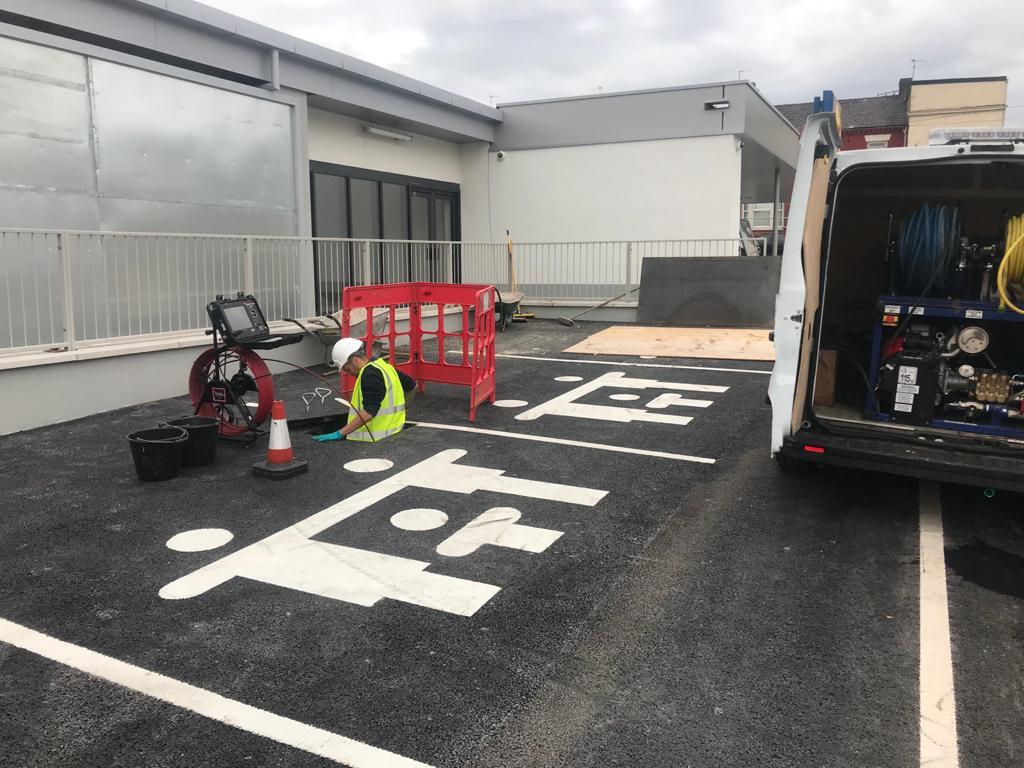 drain survey in Liverpool